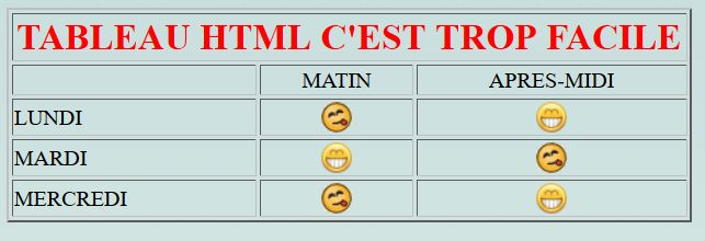 Clic-formation - Exercices HTML complet